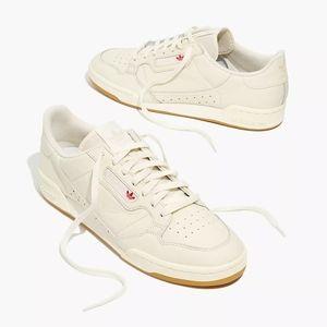NWOT Adidas Continental 80 White/Gum 5M/6W